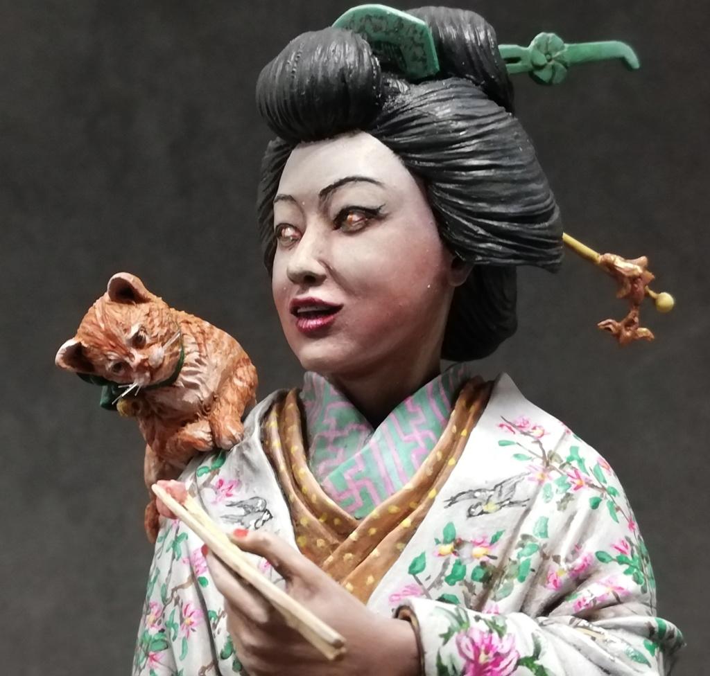 Buste de Geisha terminée - Dernières photos - Page 2 Geisha42