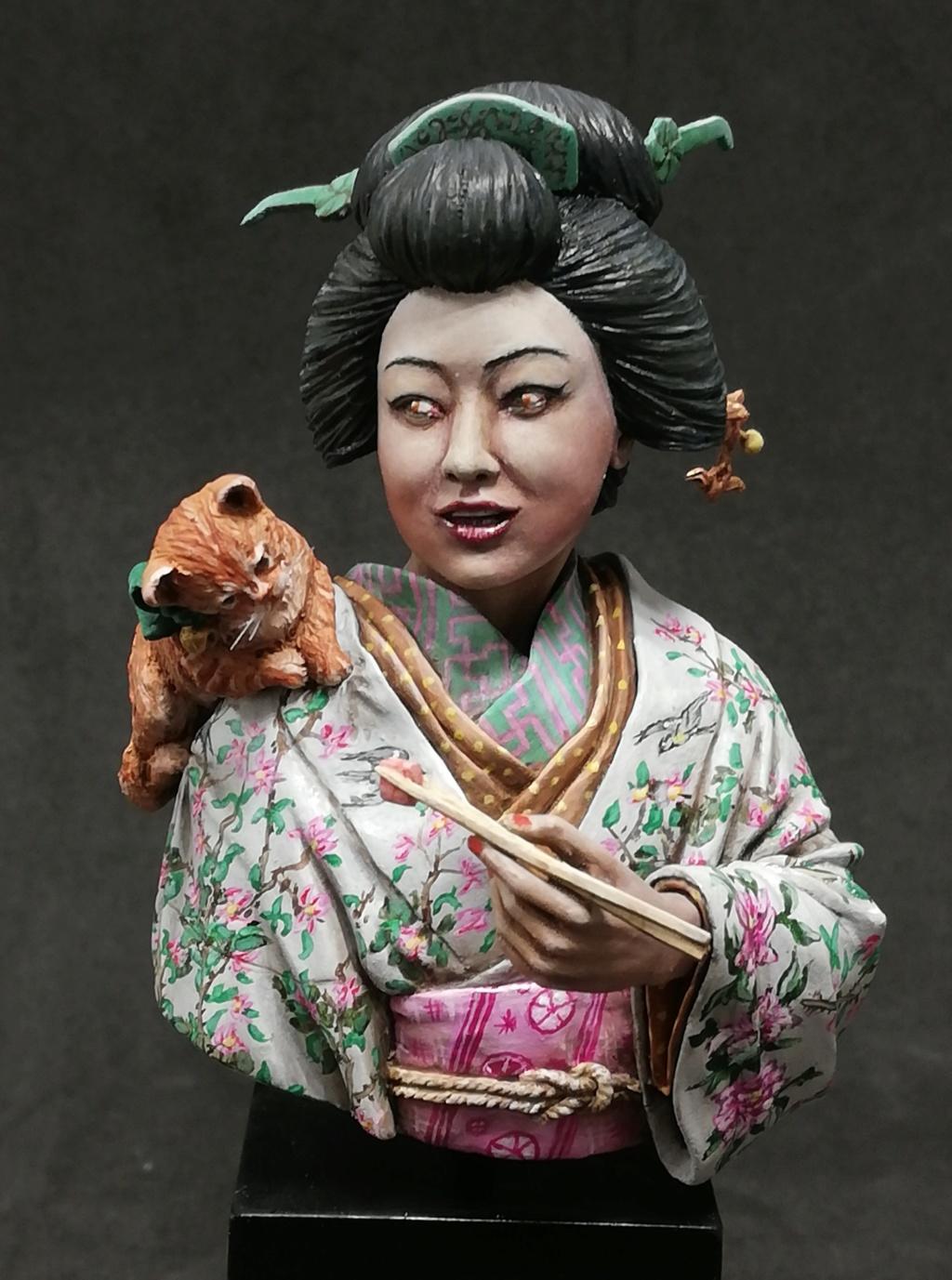 Buste de Geisha terminée - Dernières photos - Page 2 Geisha43