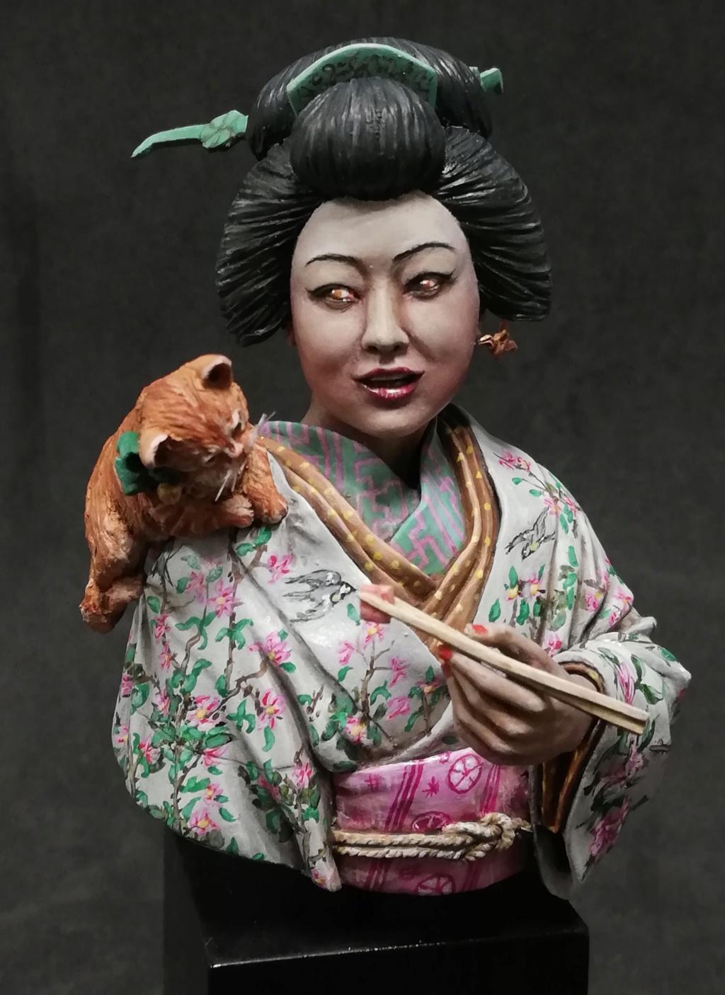 Buste de Geisha terminée - Dernières photos - Page 3 Geisha44