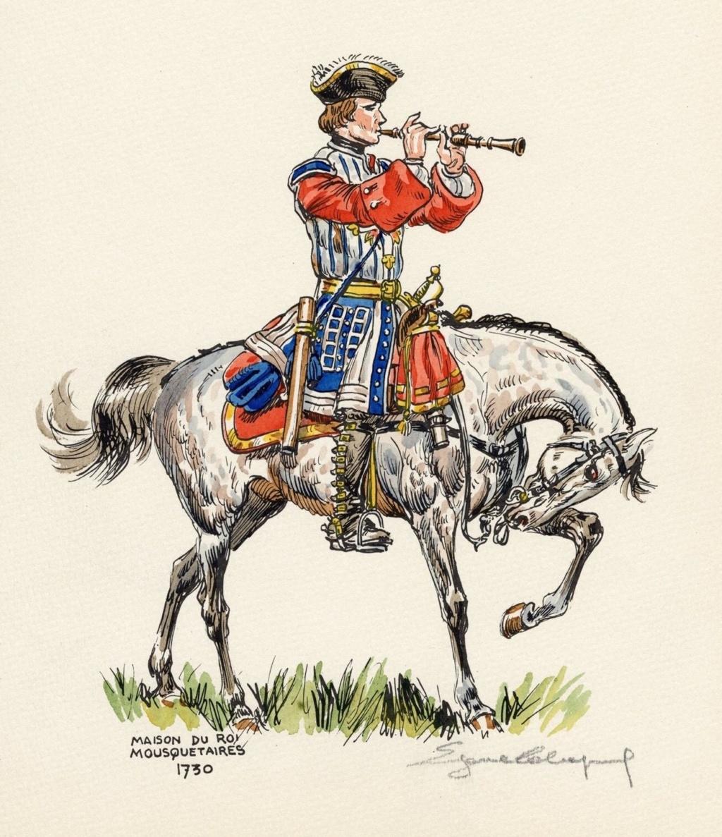 Hautbois de la maison du Roy 1750 terminé Hautbo13