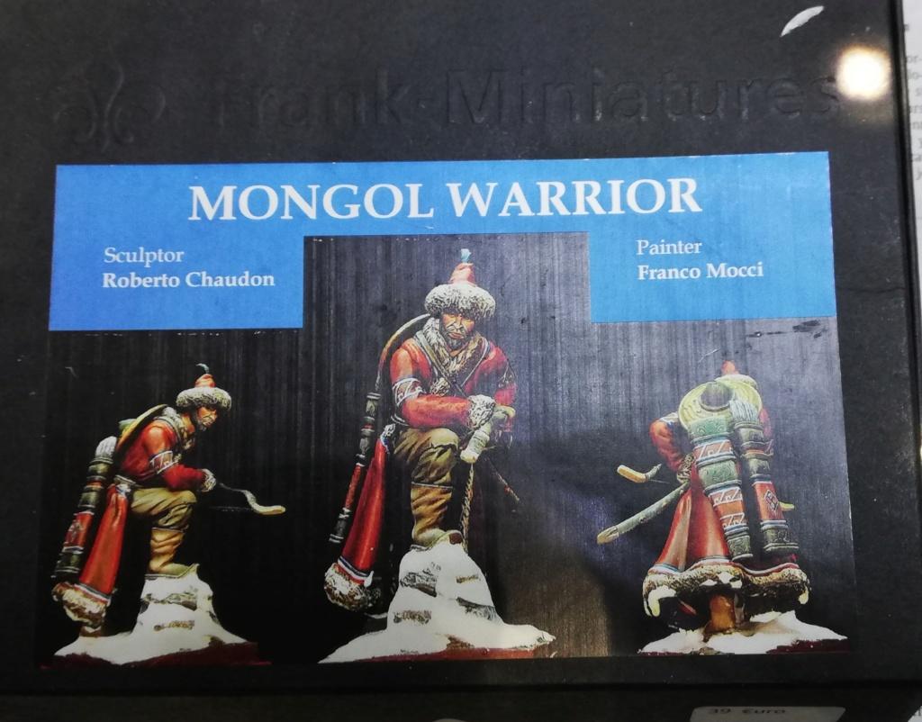 Guerrier Mongole - terminé Mongol11