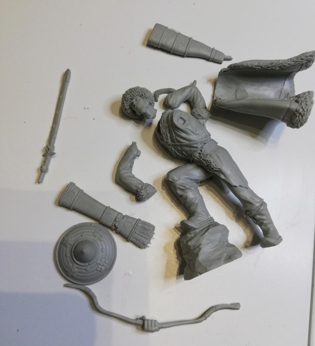 Guerrier Mongole - terminé Mongol12