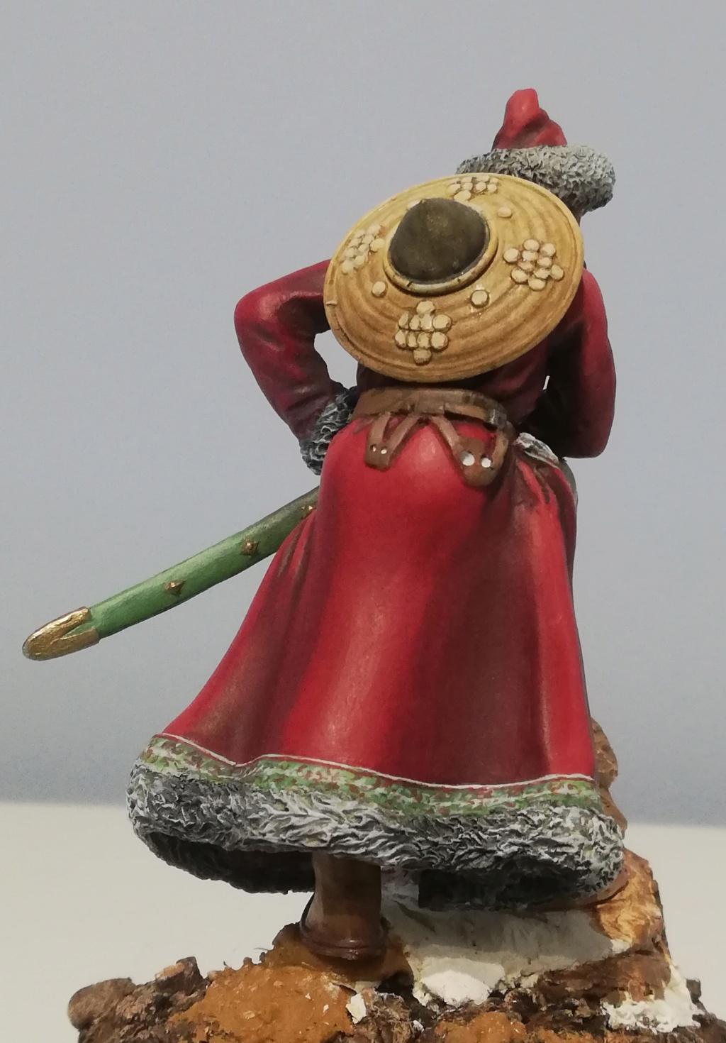 Guerrier Mongole - terminé Mongol25