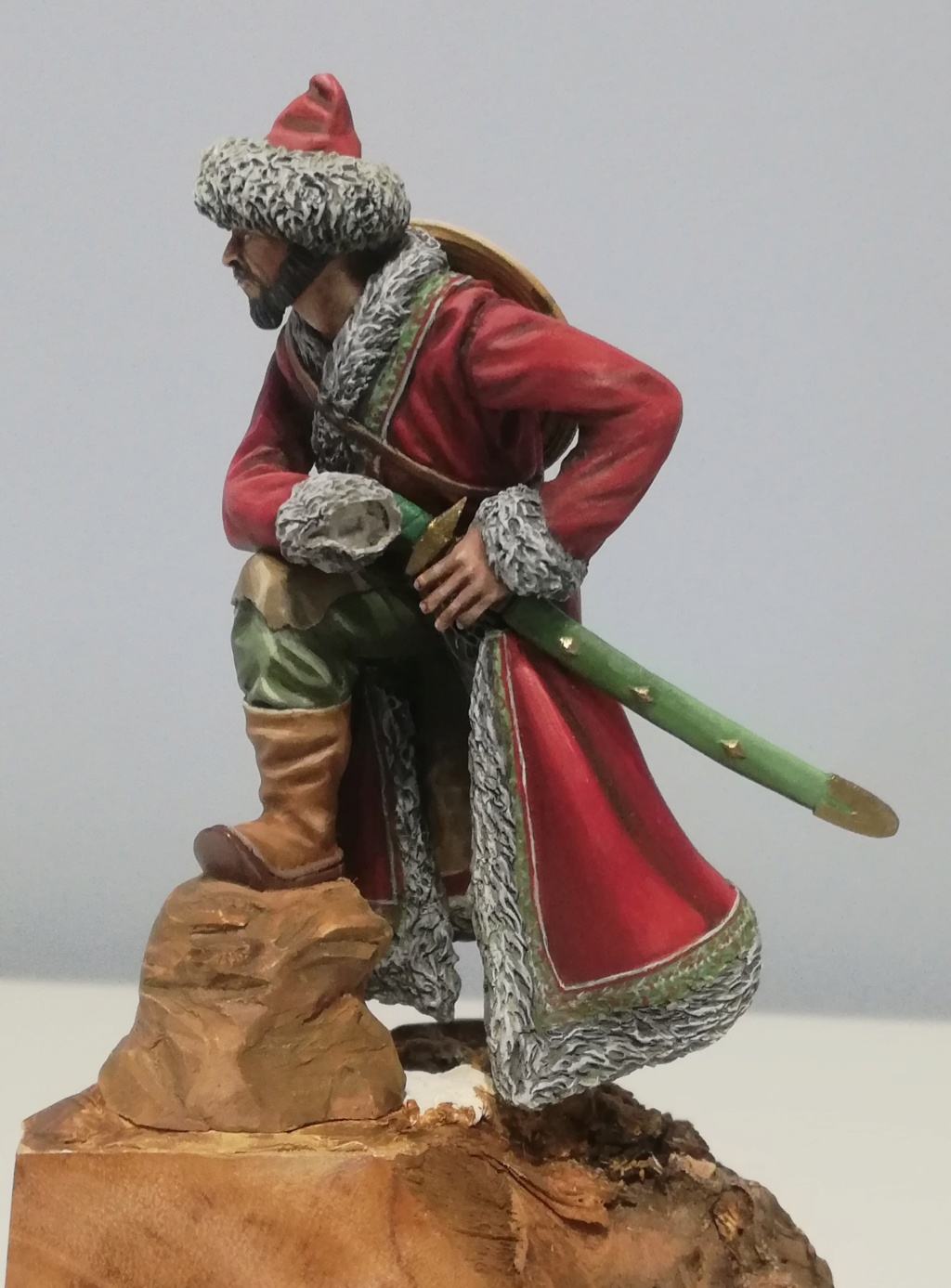 Guerrier Mongole - terminé Mongol26