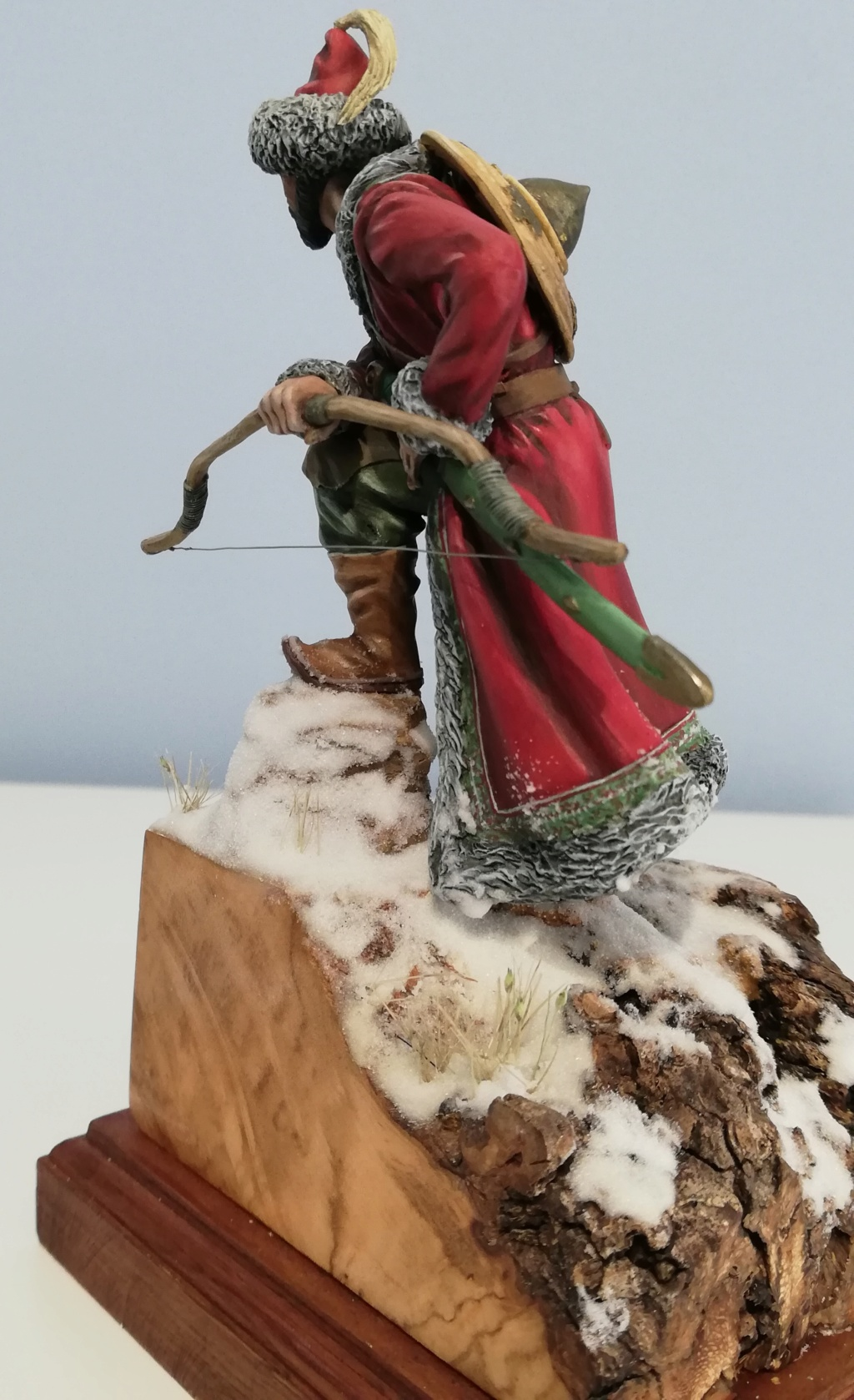 Guerrier Mongole - terminé Mongol28