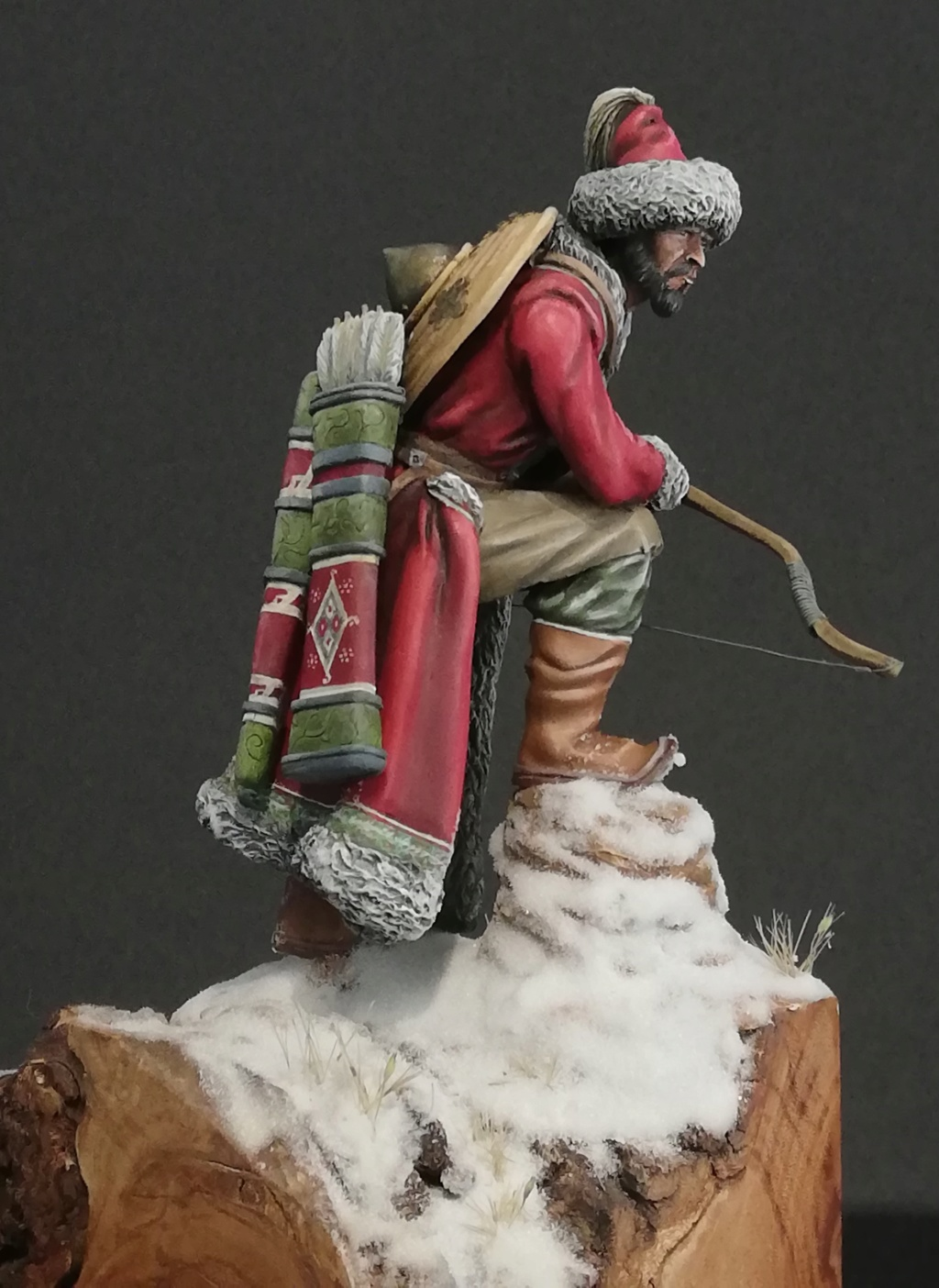 Guerrier Mongole - terminé Mongol30