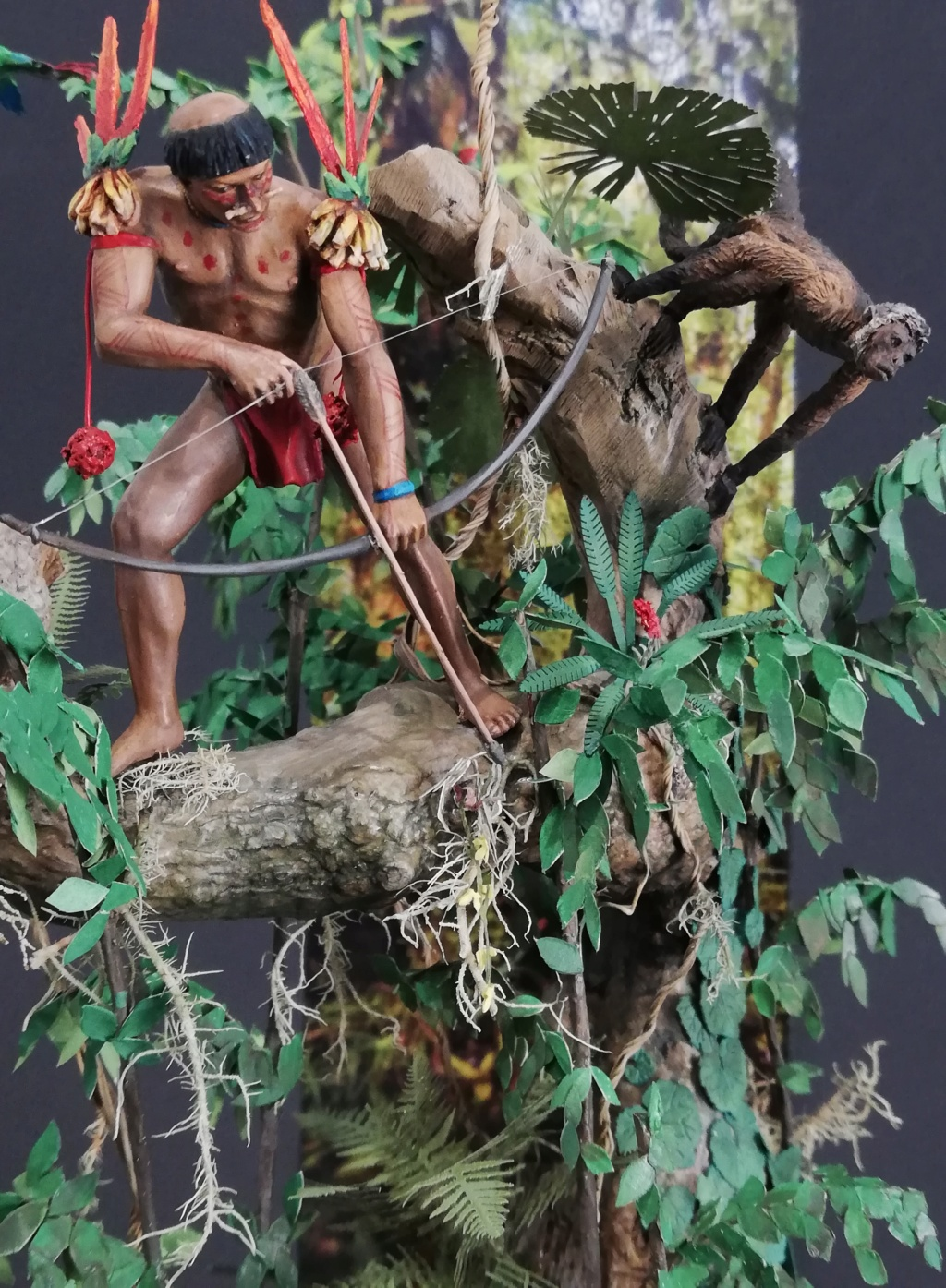 Indien Yanomani - Pièce terminée, dernières photos - Page 2 Yano_410