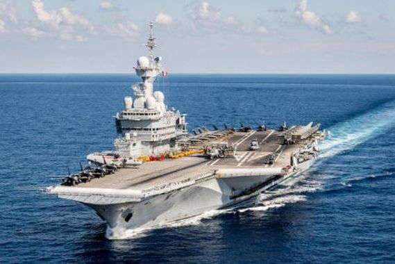 PA Charles de Gaulle - mardi 11/10 sur RMC 10400110