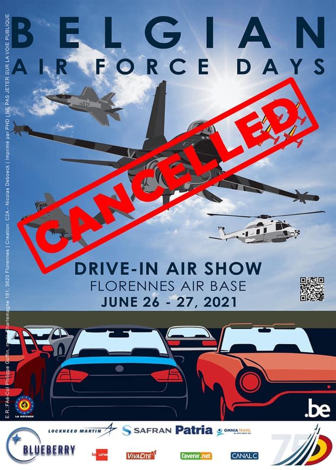 Annulation des Belgian Air Force Days 19279910