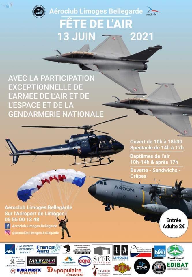 13 juin: fête de l'air à Limoges (87) 19528810