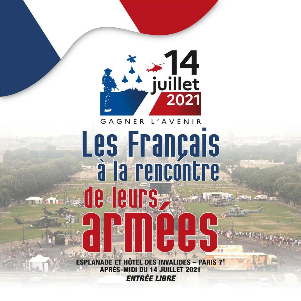 Défilés 14 juillet 2021, Paris - nombreux replays 21069910