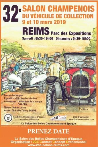 9 & 10 mars: les Belles Champenoises d'époque a Reims 58109810