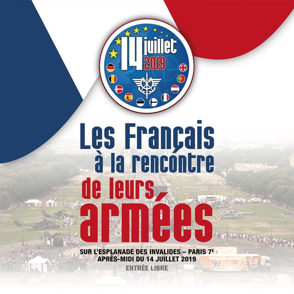 14/07: les Français a la recontre de leurs armées - Paris 65216910