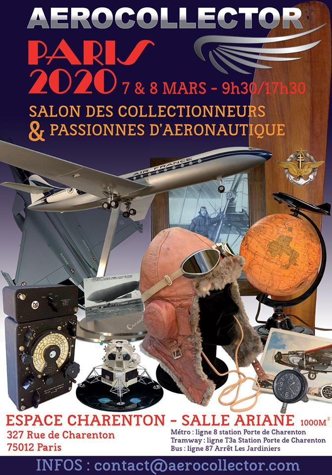 7 & 8 mars: AEROCOLLECTOR Paris 69683410