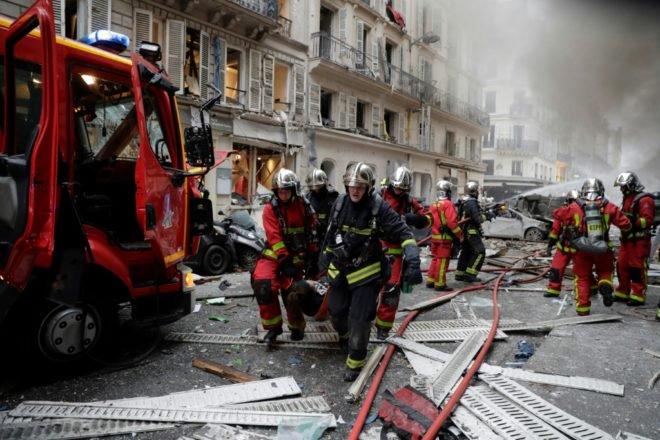 Décès de deux pompiers de Paris en intervention 955e2b11