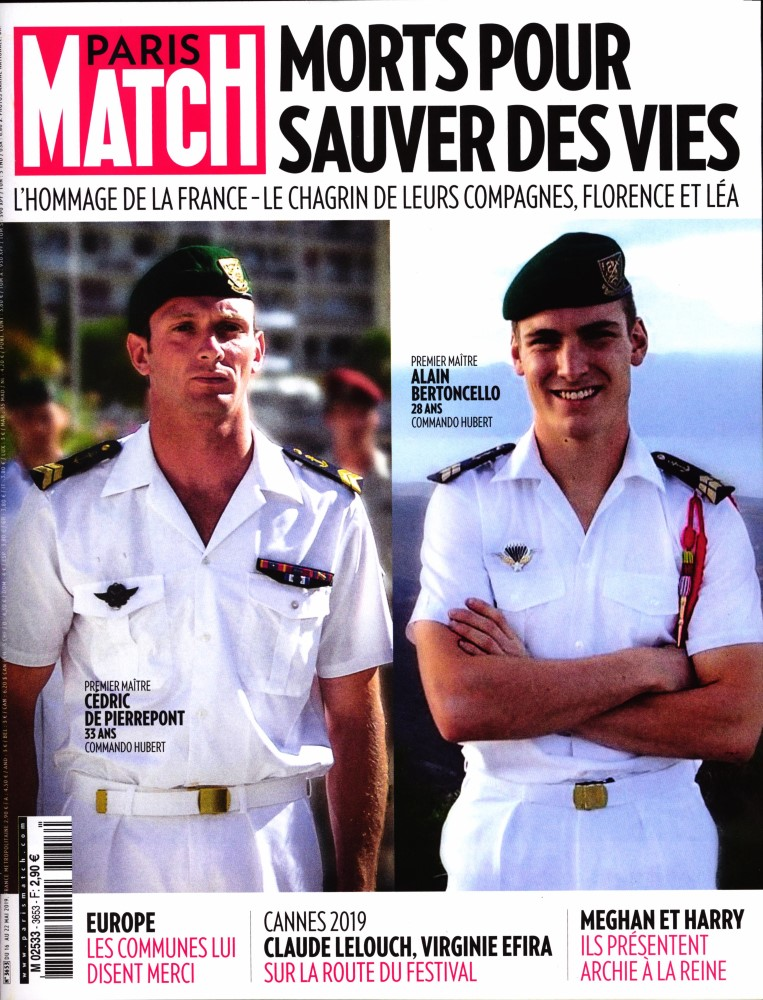 Deux soldats français tués lors d'une libération d'otages M2533_10