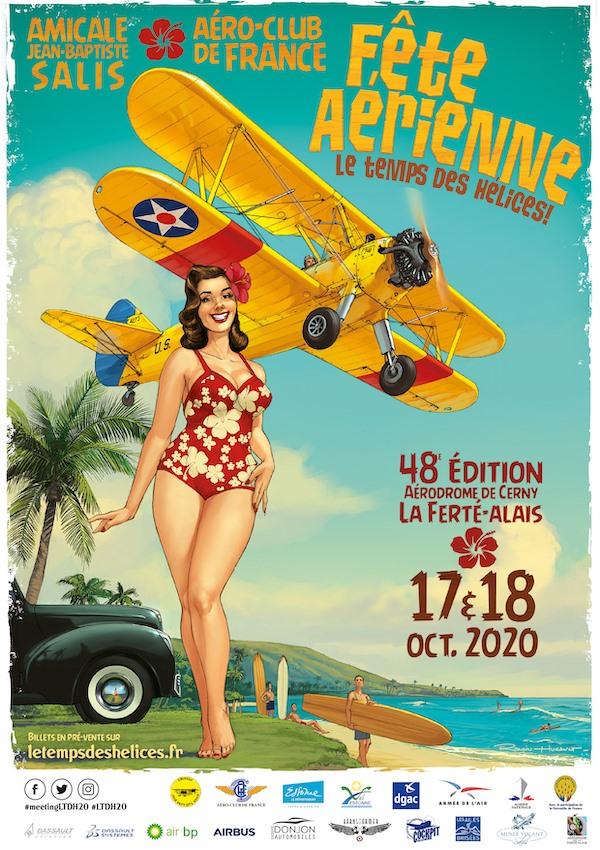 Annulation du meeting aérien de La Ferté-Alais (91) Octobr10