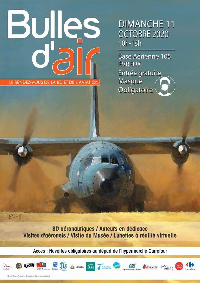11 octobre: festival BD sur la BA 105 Evreux Octobr11