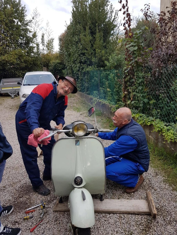 Atelier mécanique chez Josiane et Jean-Loup le 27 octobre Papet_10