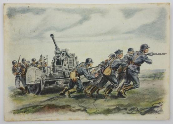 Carte postale Luftwaffe flak 730a5a10