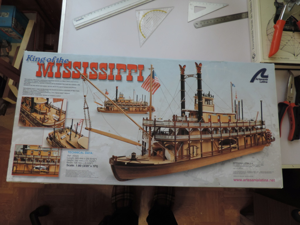 King of Mississippi - 1:80 - Artesania Latina Dscn0941