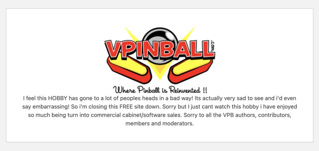 [INFO] VPINBALL - c'est fini ?!? Captur46