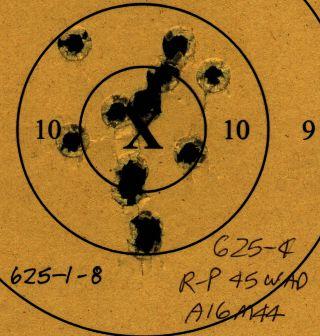 45 ACP Revolver 625-1-28