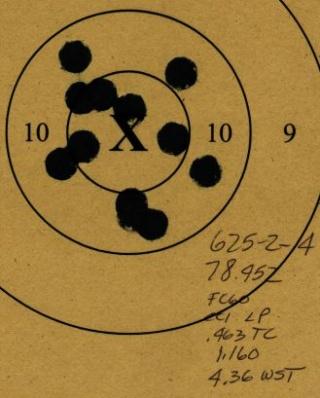 45 ACP Revolver 625-2-19