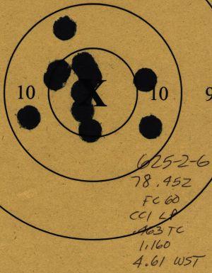 45 ACP Revolver 625-2-20