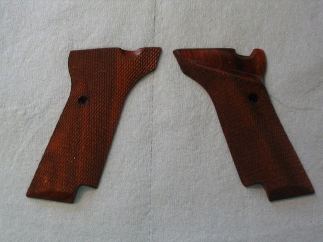 For Sale --- Wood Grips to fit High Standard Military Grip 106 Series Img_0125