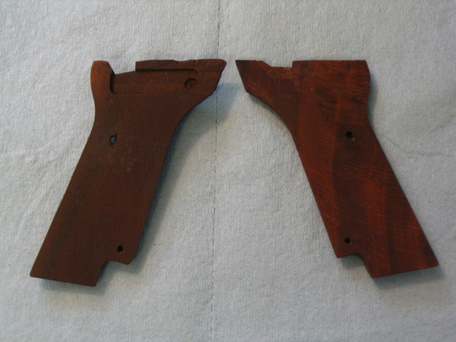 For Sale --- Wood Grips to fit High Standard Military Grip 106 Series Img_0126