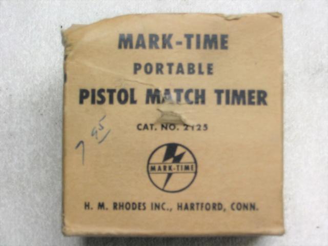 SOLD  ----    MARK-TIME  Pistol Timer Img_0220