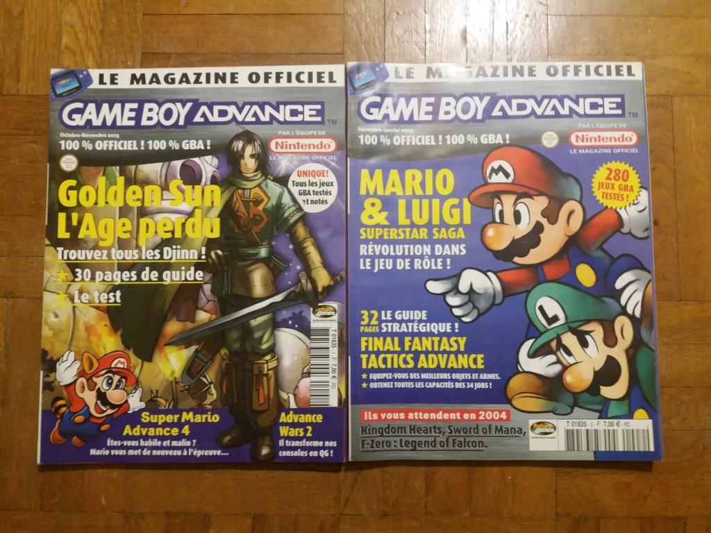 [ECH] Magazine Nintendo (Genération gamecube) 20181110