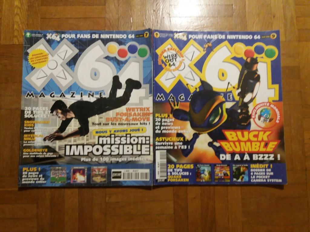 [ECH] Magazine Nintendo (Genération gamecube) 20181113