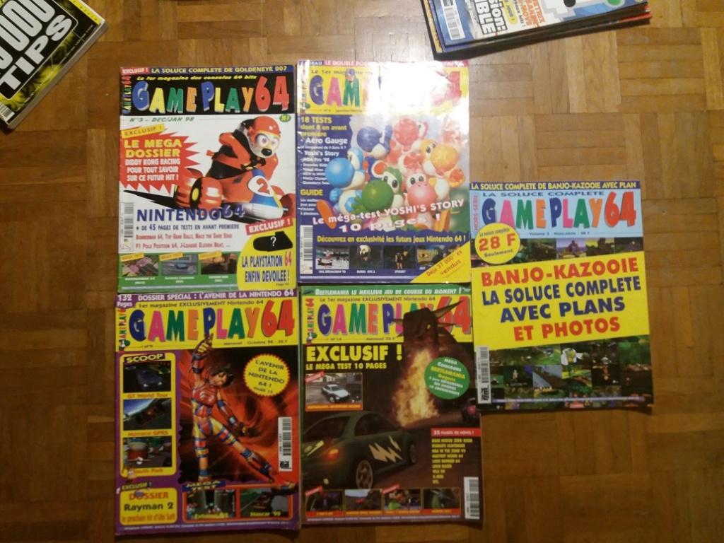 [ECH] Magazine Nintendo (Genération gamecube) 20181114