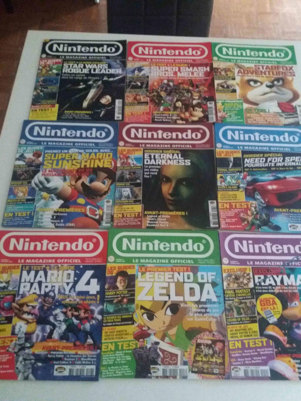 [ECH] Magazine Nintendo (Genération gamecube) 34034410