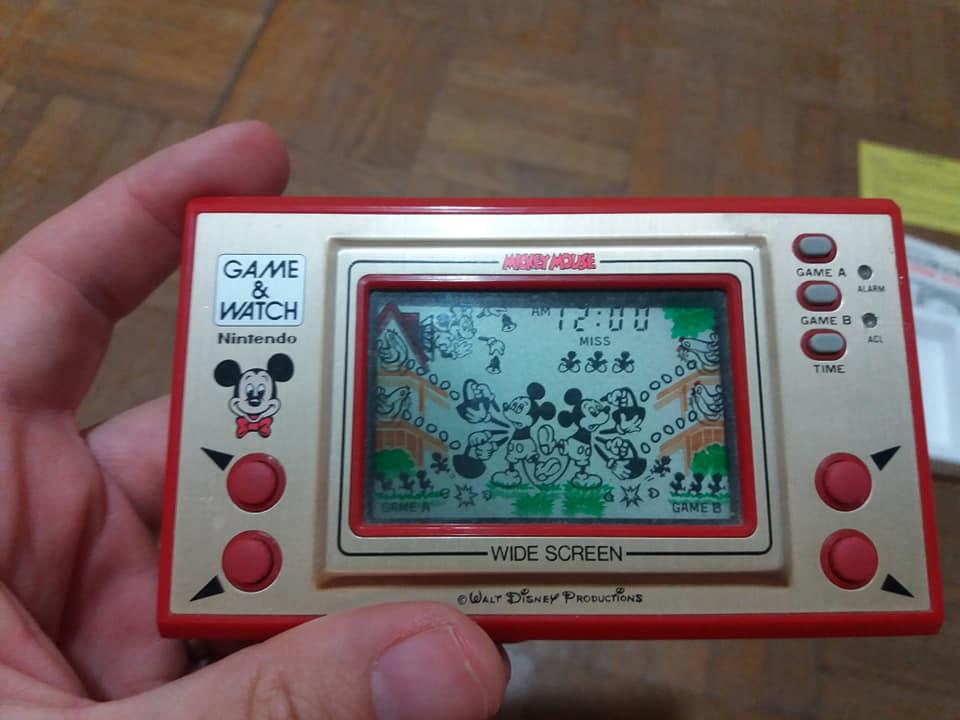 Game & Watch en boite (Mario j.i21 et Mickey) 41616310