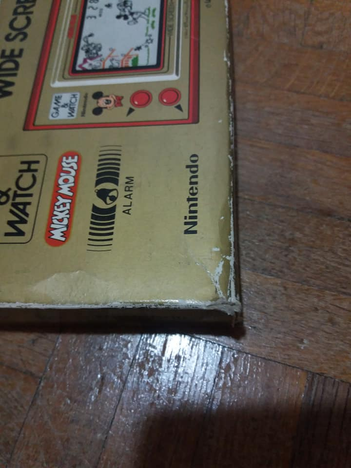 Game & Watch en boite (Mario j.i21 et Mickey) 41633810