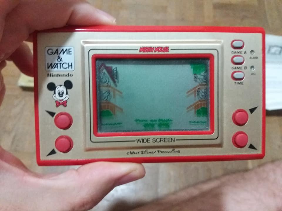 Game & Watch en boite (Mario j.i21 et Mickey) 41682210