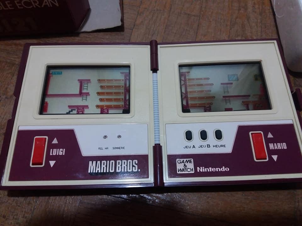 Game & Watch en boite (Mario j.i21 et Mickey) 41721410