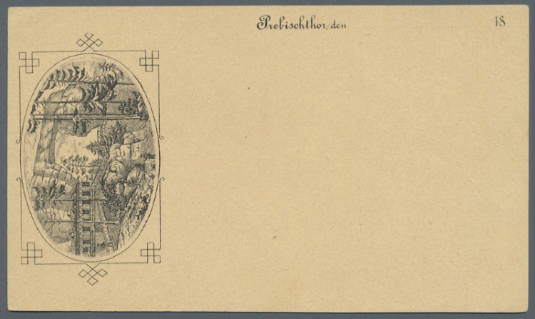 Zudruckkarten als Ansichtskartenvorläufer 14_11