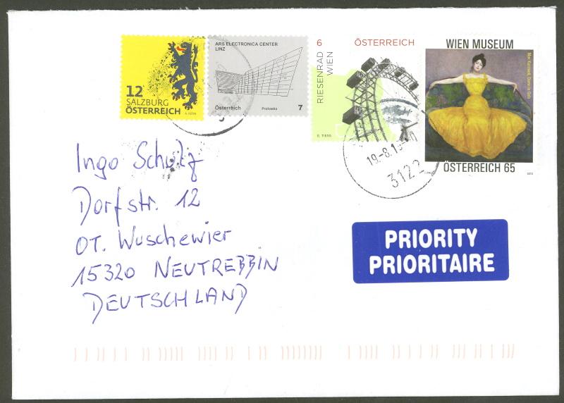 Sammlung Bedarfsbriefe Österreich ab 1945 - Seite 14 150z1010