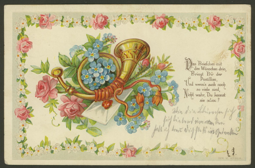 Prägedruckkarten aus aler Welt 1610