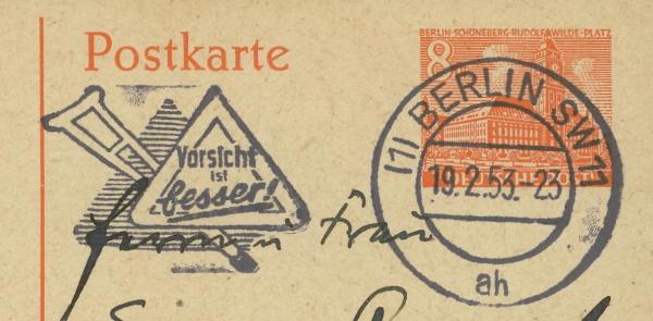 Schöne Briefe und Belege aus Berlin 19025311