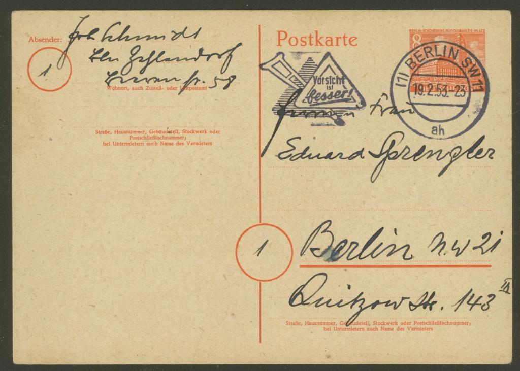 Schöne Briefe und Belege aus Berlin 19025313