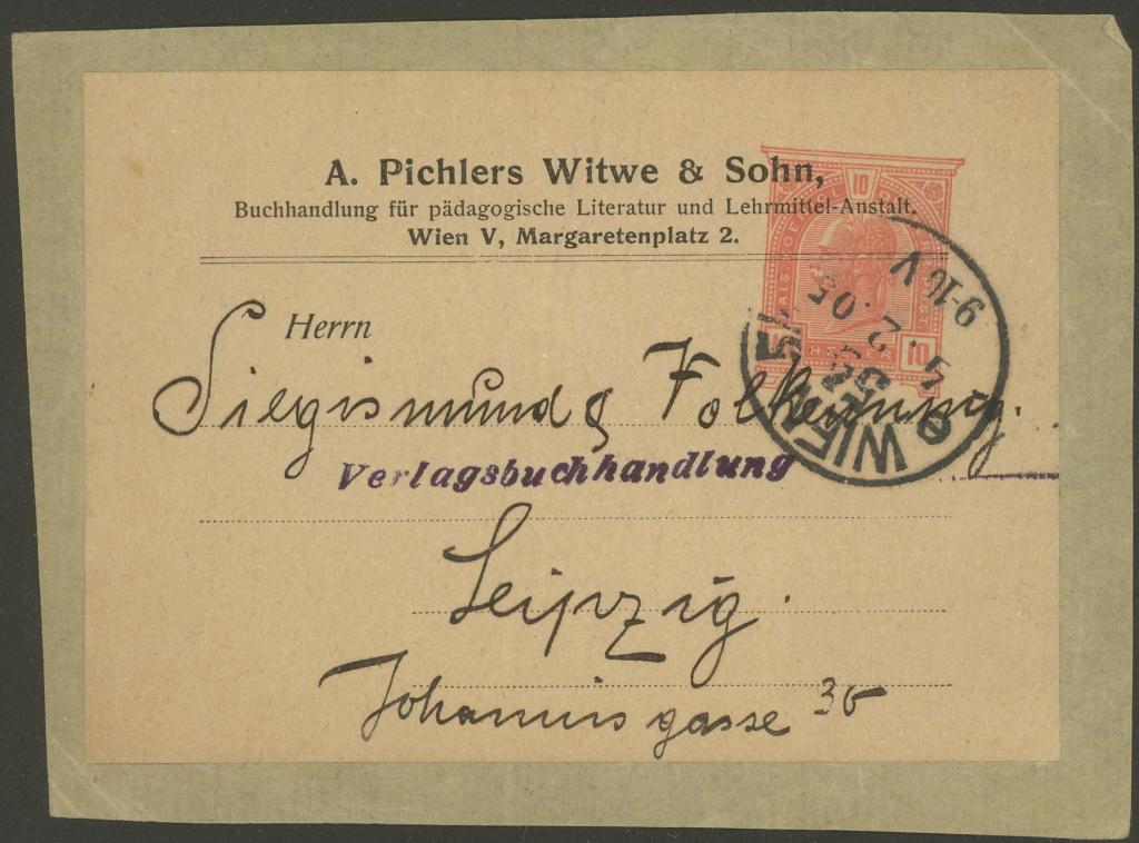 Privatganzsachen von A. Pichlers Witwe & Sohn 2-pa_810