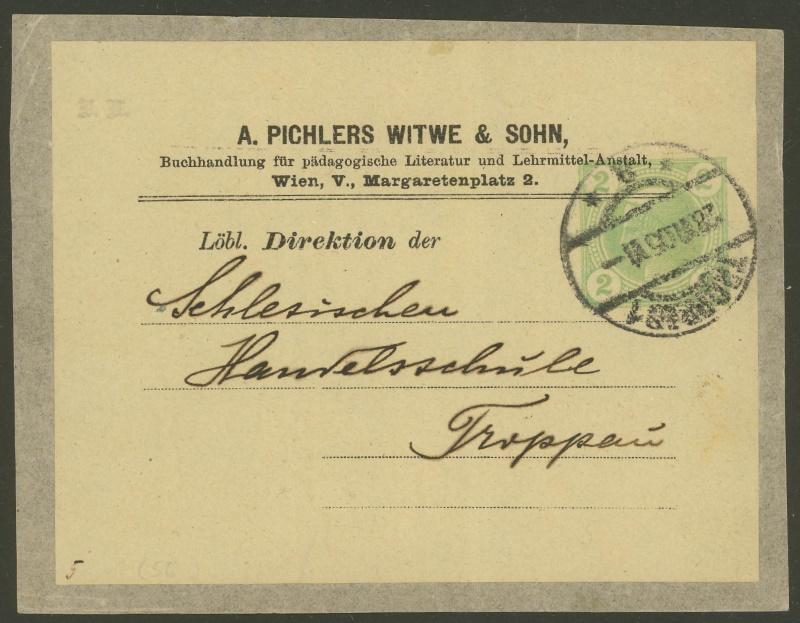 Privatganzsachen von A. Pichlers Witwe & Sohn Pa_1_212