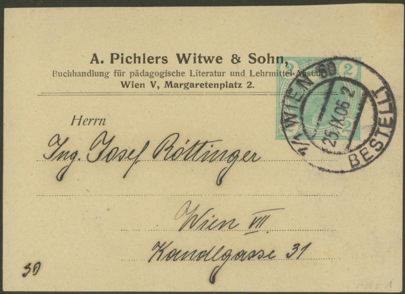 Privatganzsachen von A. Pichlers Witwe & Sohn Pa_1_213