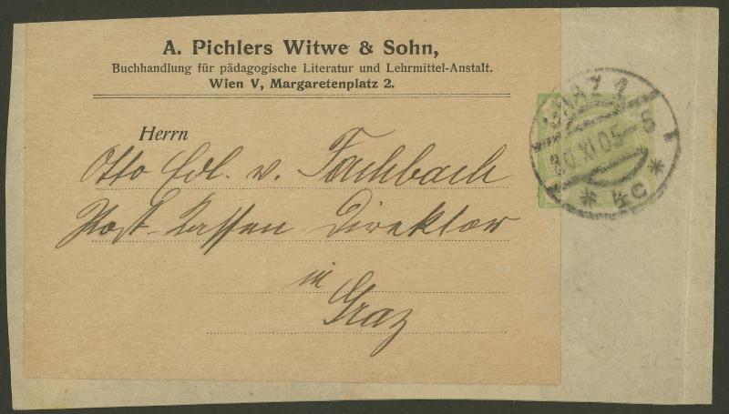 Privatganzsachen von A. Pichlers Witwe & Sohn Pa_1_311