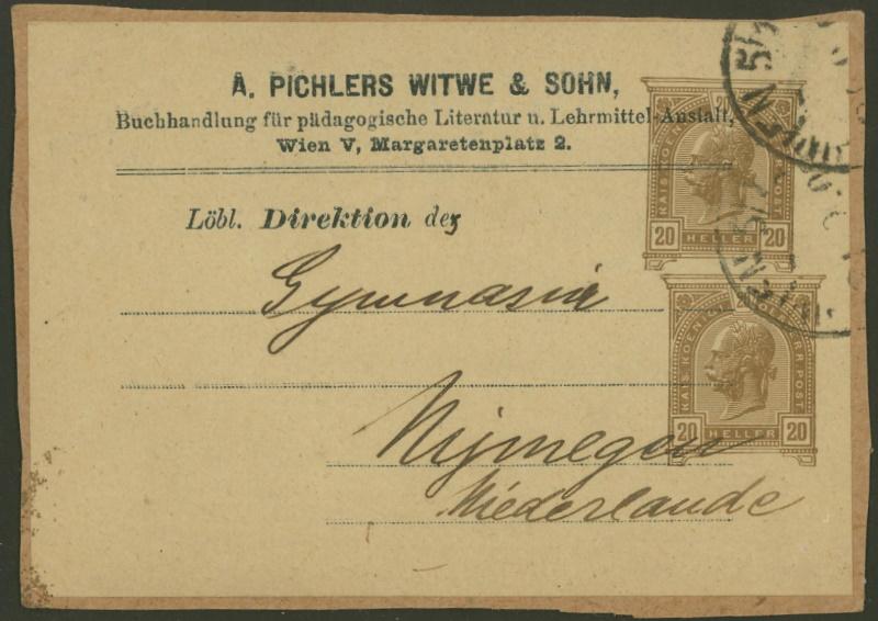 Privatganzsachen von A. Pichlers Witwe & Sohn Pa_20211